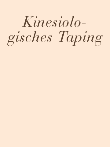 Kinesiologisches- aping